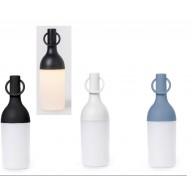 LAMPADA LED RICARICABILE NERO H 31 DIAM. 13