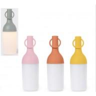 LAMPADA LED RICARICABILE GIALLO H 31 DIAM. 13