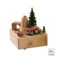 Carillon in legno di faggio